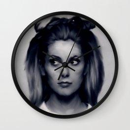 CATHERINE DENEUVE Wall Clock