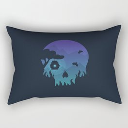 Anything can be beautiful Rectangular Pillow