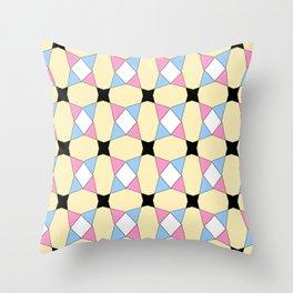 symetric patterns 31 -mandala,geometric,rosace,harmony,star,symmetry Throw Pillow