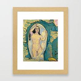 Koloman Moser - Venus in the Grotto, 1914 Framed Art Print