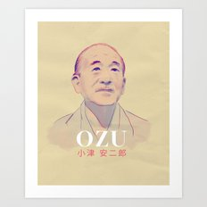 Yasujirō Ozu Art Print