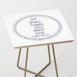 Do Small Things Side Table