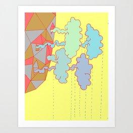 Cloud Factory Art Print