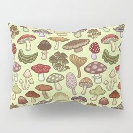 Mushroom Circle Pillow Sham