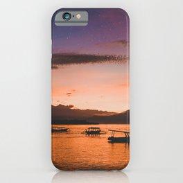 Indonesian Sunrise iPhone Case