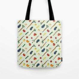 Veggie Flow Tote Bag