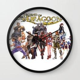 Legend of Dragoon Cast Wall Clock