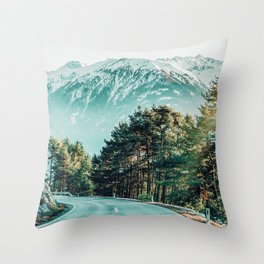 Road To Heaven #photography #nature Throw Pillow