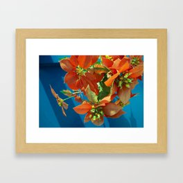 Fiore Flowers  #Society6  #buy art  #decor Framed Art Print