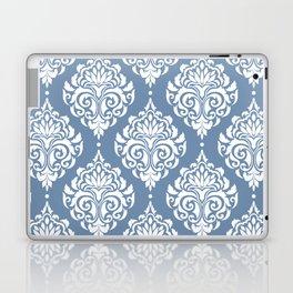 Sky Blue Damask Laptop & iPad Skin