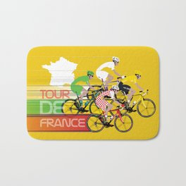 Tour De France Bath Mat