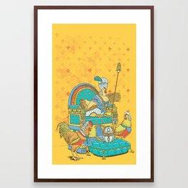 Eleggance Framed Art Print