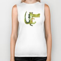 coco Biker Tanks featuring Coco by Happy Tao