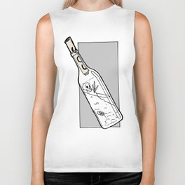 SOS Bottle Biker Tank