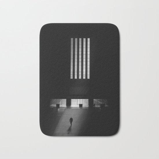 black white photo Bath Mat