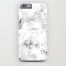 Light gray marble (3) iPhone Case