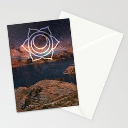 Sacral Chakra of the Earth - Lake Titicaca Stationery Cards