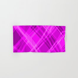 Swirling pink ribbons with a pattern of light graceful stripes.  Hand & Bath Towel