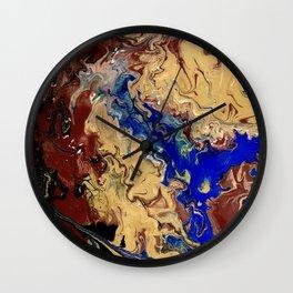 Waves of Wind Wall Clock