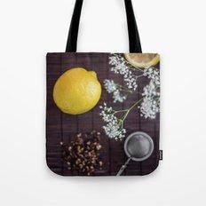 Lemon and tea Tote Bag