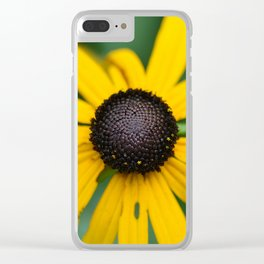 flower center Clear iPhone Case
