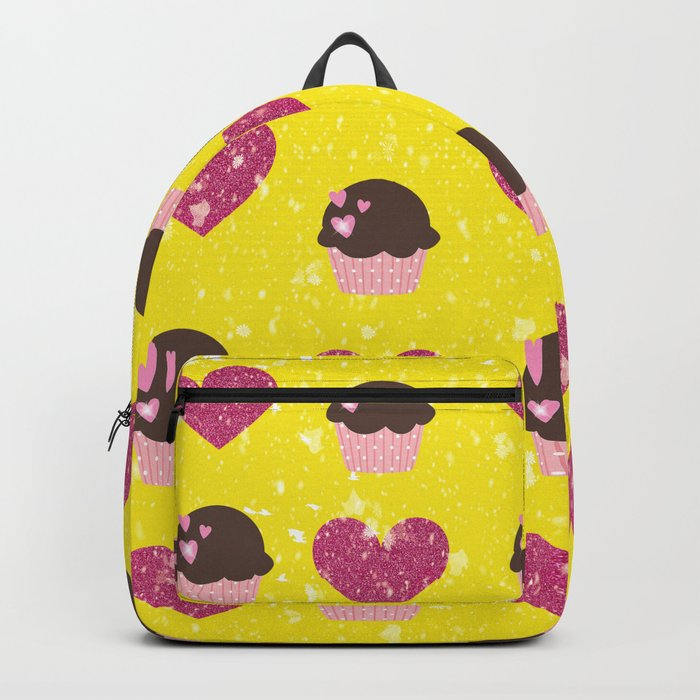 Hearts and cupcakes Backpack