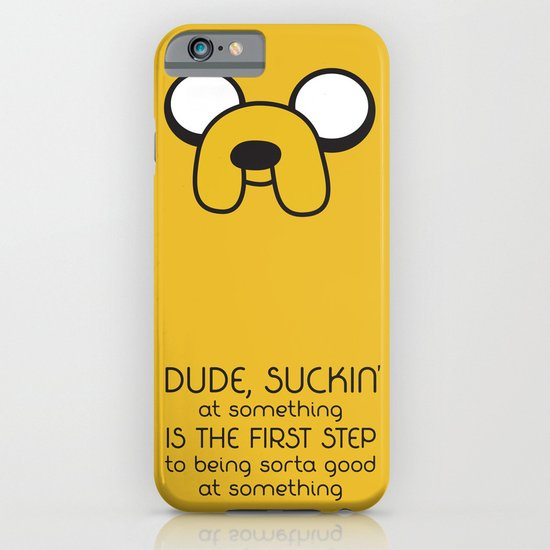 Wisdom From A Dog iPhone & iPod Case