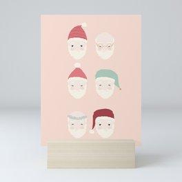 Santas - Blush Mini Art Print