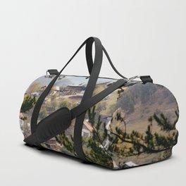 Mountain village Duffle Bag
