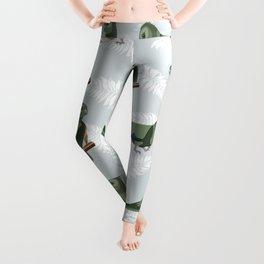 Kea New Zealn bird pattern Leggings