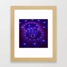 Electric Bubbles Framed Art Print