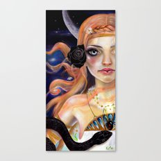 Ariadne and the snake Canvas Print