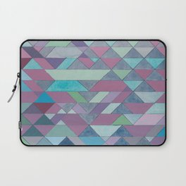 Triangle Pattern no.3 Violet Laptop Sleeve