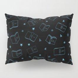 Classic Books Invert Blue Pillow Sham