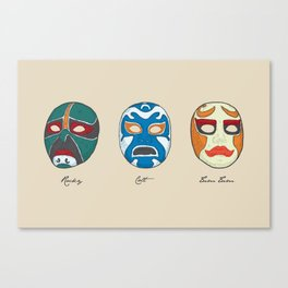 Three Ninjas Canvas Print