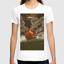 Salmon River Kayaker T-shirt