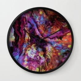 unique marble b Wall Clock