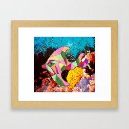 Jessica the Fish Framed Art Print