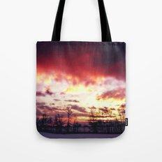 Arctic Warmpth Tote Bag