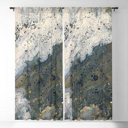 Acrylic Pour 2 Blackout Curtain