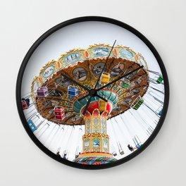 Santa Cruz Tilt A Whirl Wall Clock