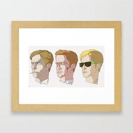 Gosling Trio Framed Art Print
