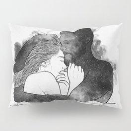 The hug. Pillow Sham