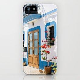 Mediterranean Door iPhone Case