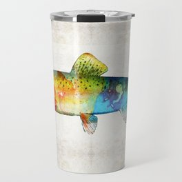 Rainbow Trout Art by Sharon Cummings Travel Mug