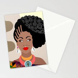 African Queen IV Stationery Cards