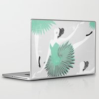 ballet Laptop & iPad Skins featuring BALLET by Kiley Victoria