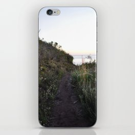 the path not taken iPhone Skin