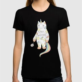 Stay Weird! With Love From Unicorn Cat T-shirt