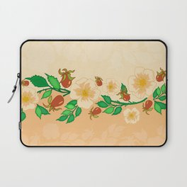 Abstract roses background Laptop Sleeve